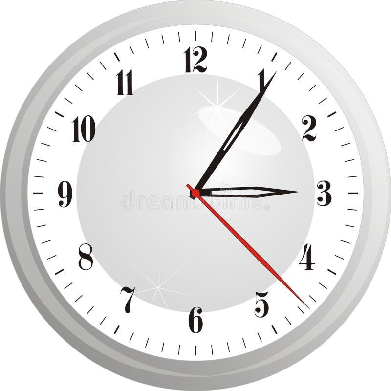 手表传染媒介例证 免版税库存图片