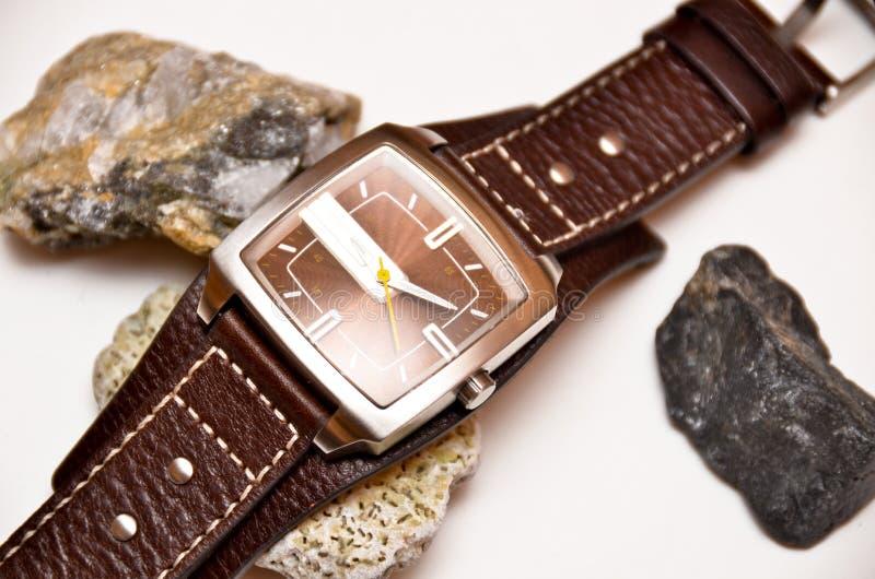 手表腕子 免版税库存图片