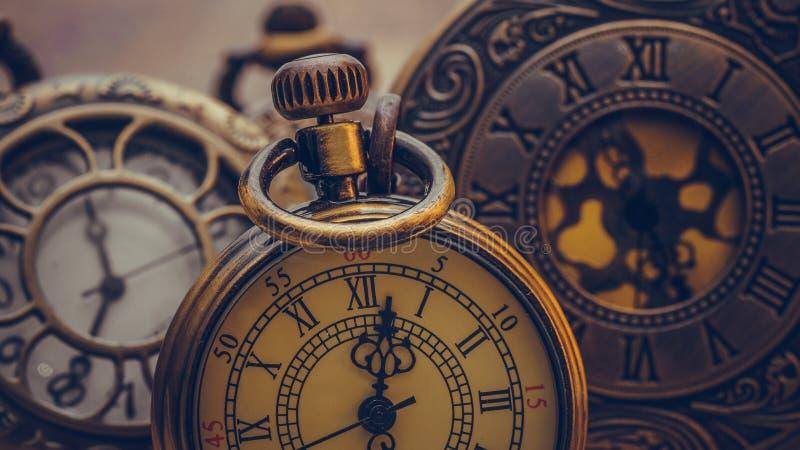 手表项链老汇集项目 库存图片