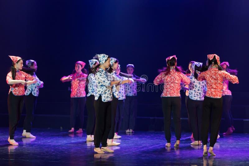 手语路线1丁香舞蹈戏曲 库存图片