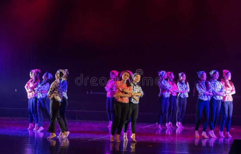手语路线4丁香舞蹈戏曲 免版税库存照片