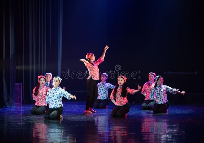 手语路线8丁香舞蹈戏曲 免版税库存图片