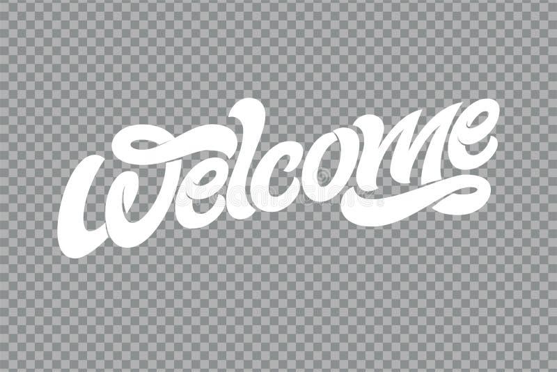 手速写的受欢迎的字法印刷术 拉长的艺术标志 诱导文本 略写法的,徽章,象,卡片问候 库存例证