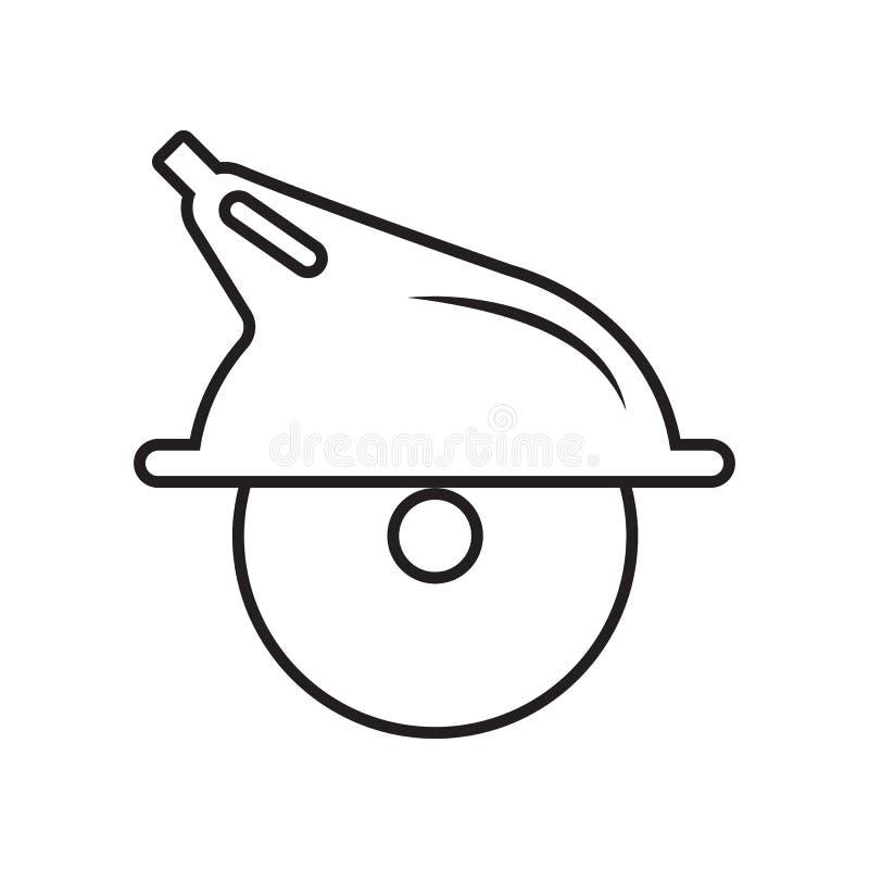 手锯象 Constraction工具的元素为流动概念和网应用程序象的 r 向量例证