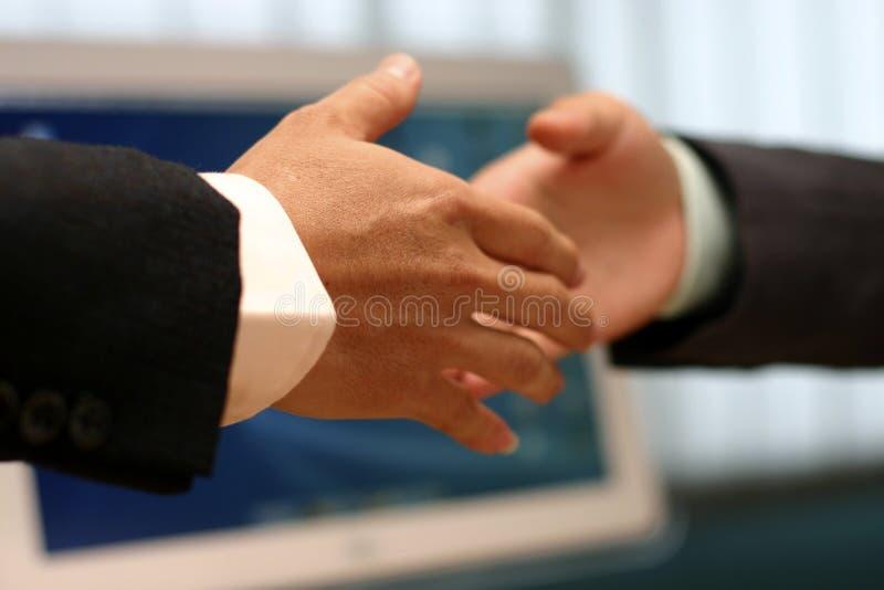 手震动在办公室 库存照片