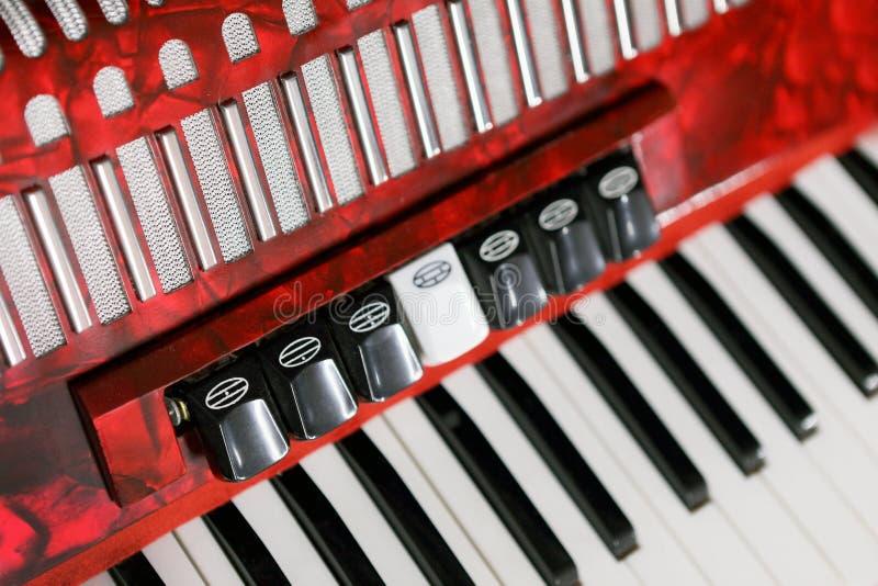 手风琴 免版税图库摄影