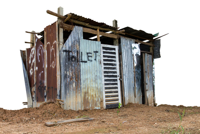 洗手间屋顶 图库摄影