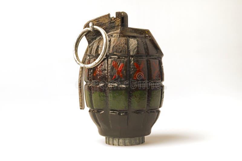 手榴弹碾碎没有的炸弹 36 库存图片