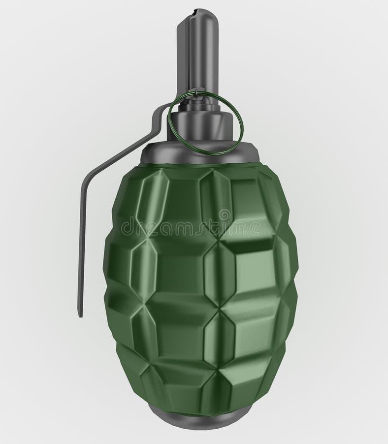 手榴弹 向量例证