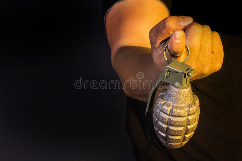 手榴弹 库存图片