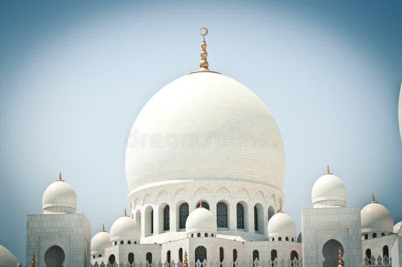 扎耶德Mosque,阿布扎比,阿联酋回教族长 库存图片