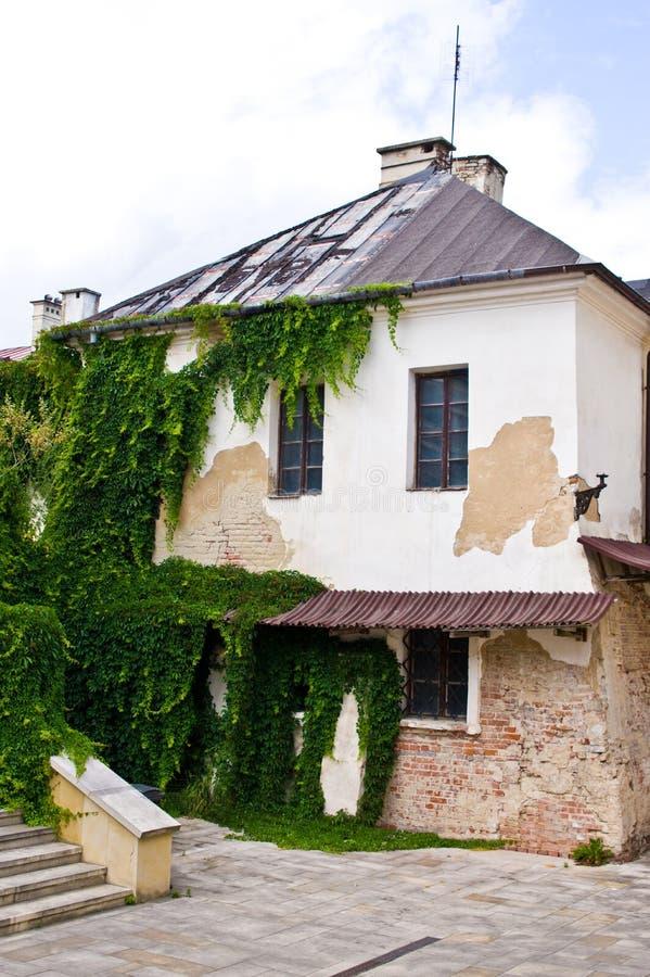 扎莫希奇波兰,建筑学7月2019年,老镇 免版税图库摄影