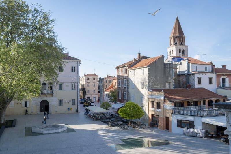 扎达尔,克罗地亚 免版税库存照片
