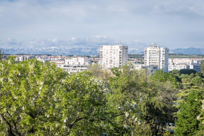 扎达尔,克罗地亚 免版税库存图片
