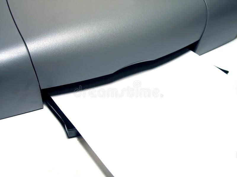 打印机盘 免版税库存照片