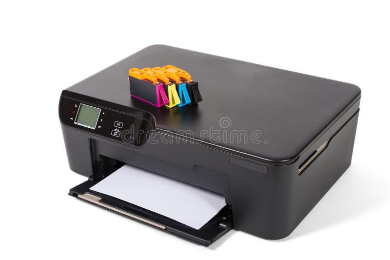 打印机,扫描器,影印机 免版税库存照片