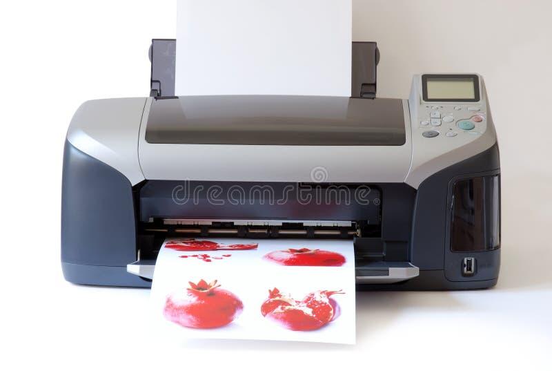 打印机 免版税库存照片