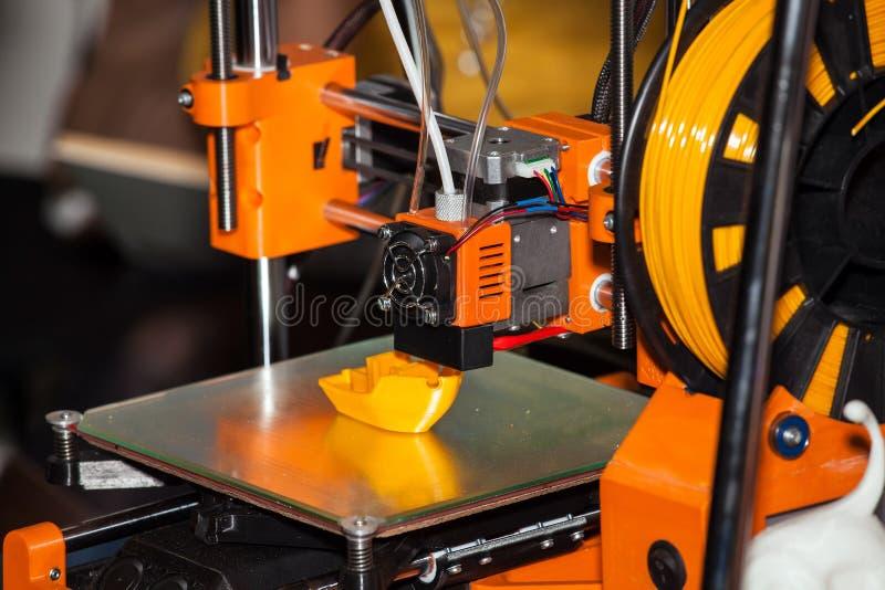 打印3d打印机 图库摄影