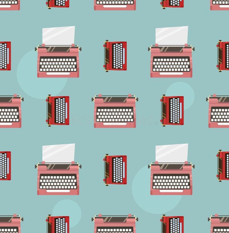 打字机颜色样式 库存照片