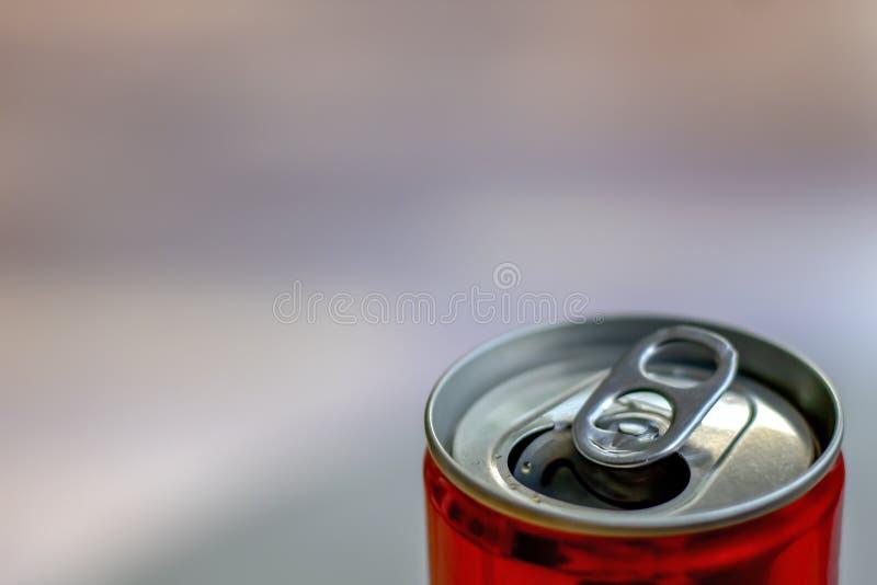 打开了的汽水罐头 免版税库存图片