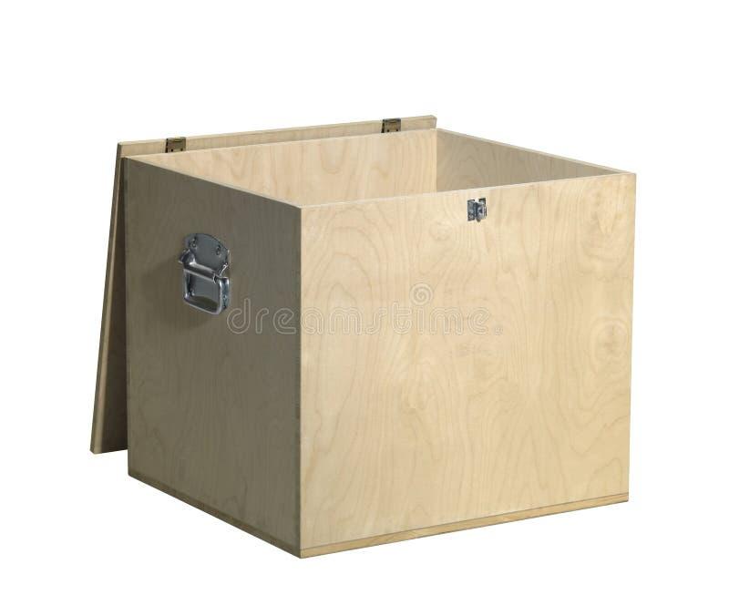 打开木箱 免版税库存照片