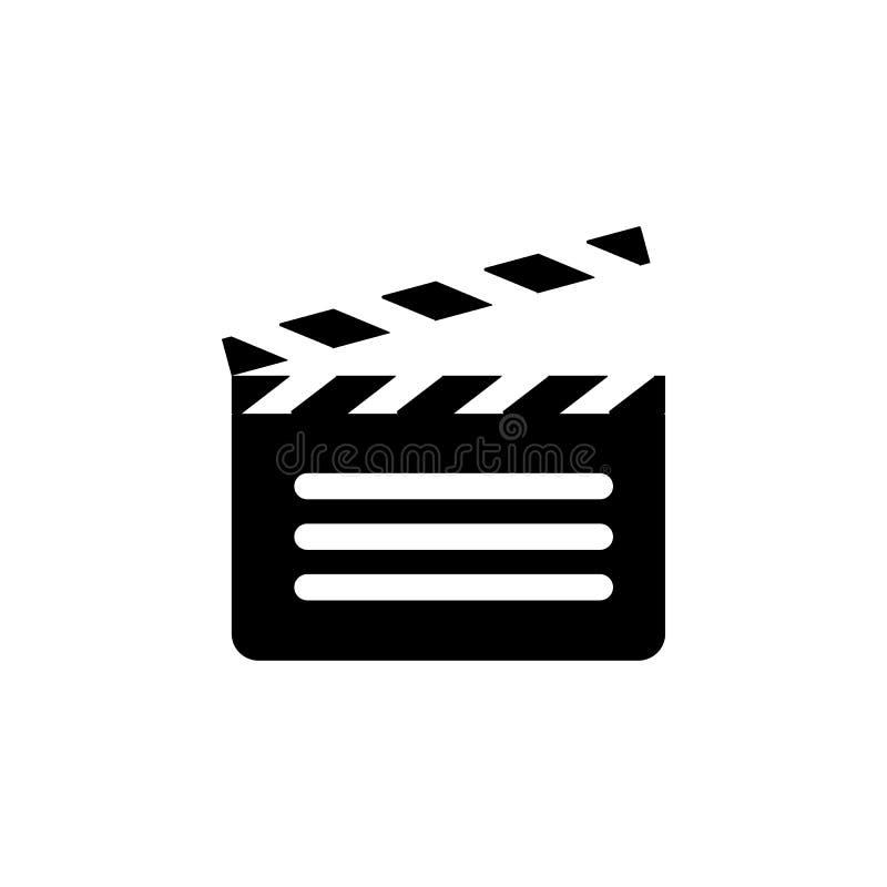 打开电影薄脆饼干象 简单的象,网络设计,流动app,信息图表的元素网站的 标志和标志汇集 皇族释放例证