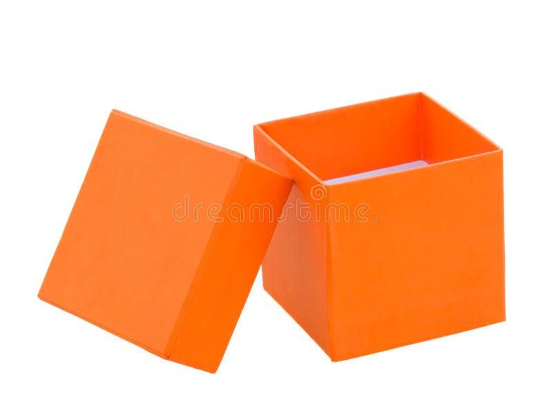 打开箱子 库存照片