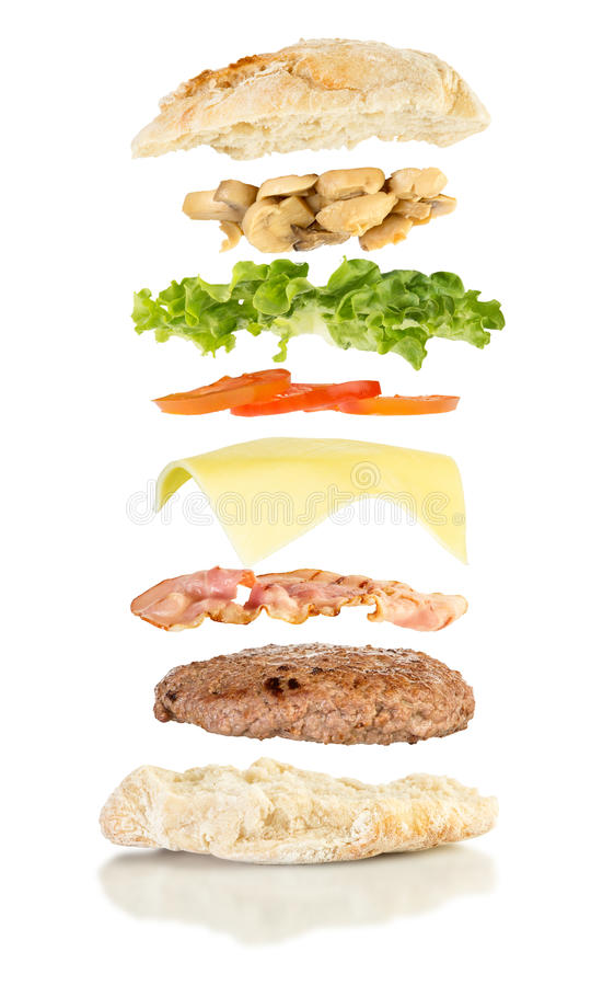 Download 打开buger升空 库存照片. 图片 包括有 展开, 升空, 重力, 干酪, 概念, 巴西, 蘑菇, 三明治 - 72369358