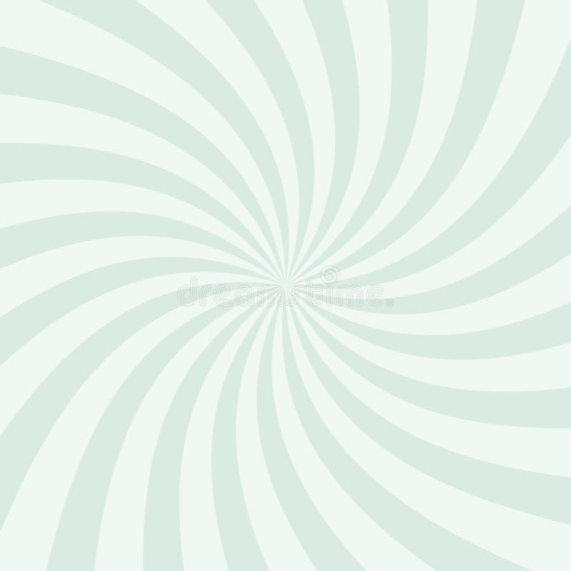 打旋的辐形样式背景 也corel凹道例证向量 库存例证