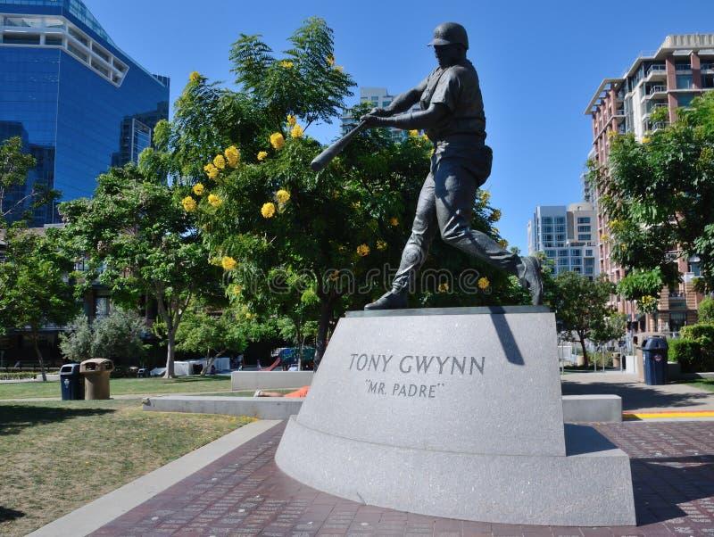 托尼Gwynn先生 padre 库存照片