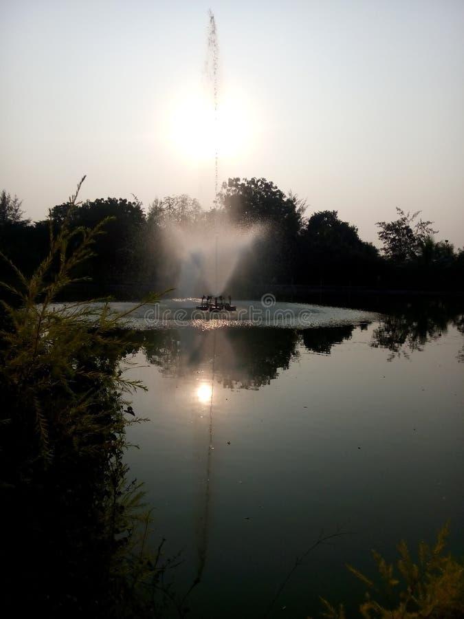 托恩公园 在贾尔冈的孩子身上 库存图片