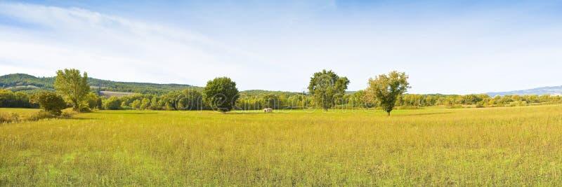 托斯卡纳风景全景意大利,托斯卡纳,波马兰切 Im 库存图片