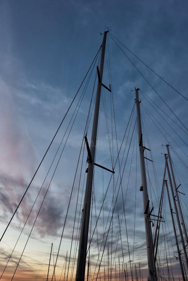 托斯坎海景,天堂是下个LV 库存图片