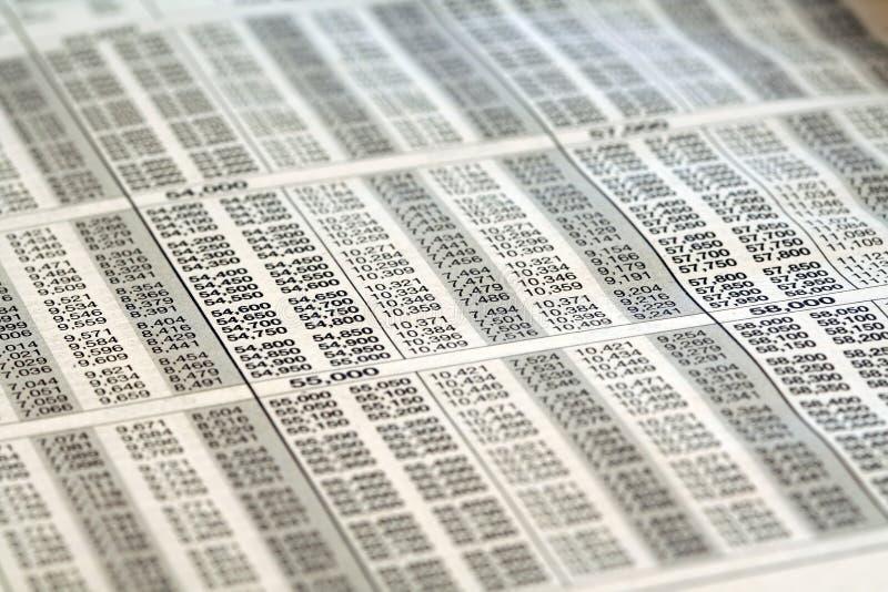 托架税务 免版税库存图片