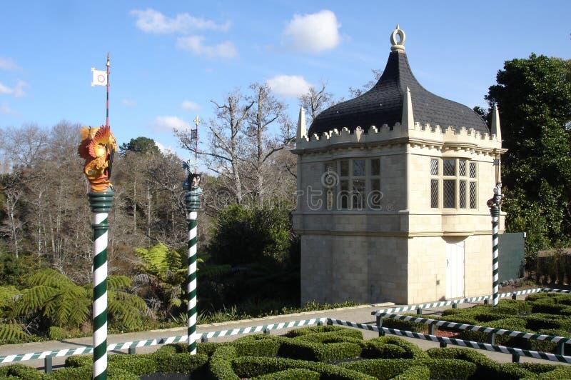 托特庭院在汉密尔顿花园新西兰 免版税库存图片