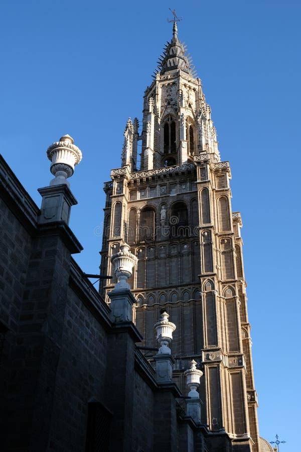 托莱多大教堂在西班牙 库存图片