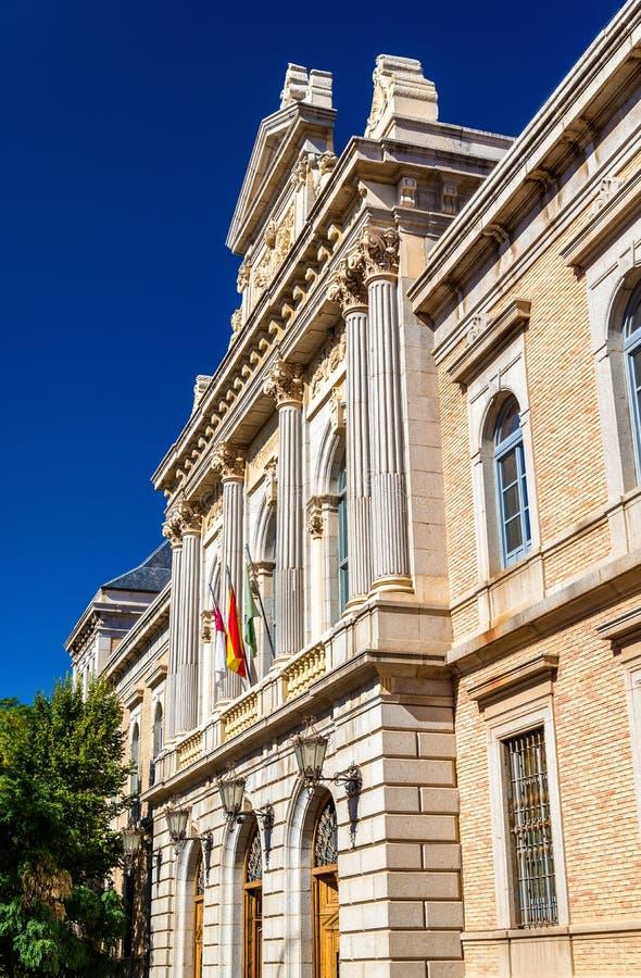 托莱多省代表团-西班牙大厦  免版税图库摄影