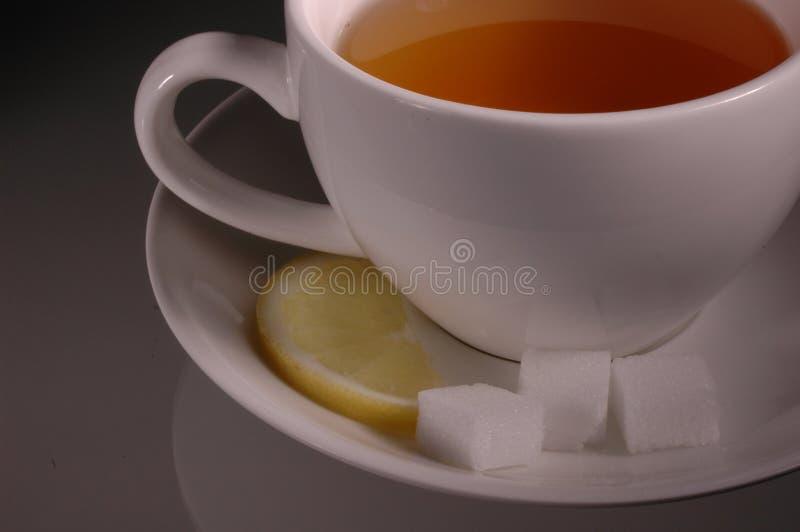 托起茶 库存图片