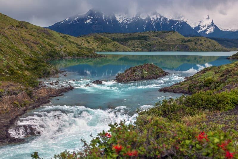 托里斯del潘恩-巴塔哥尼亚-智利 库存照片