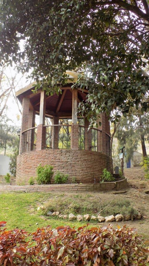 托雷莫利诺斯角-植物的庭院Molino del印加人安大路西亚 库存图片