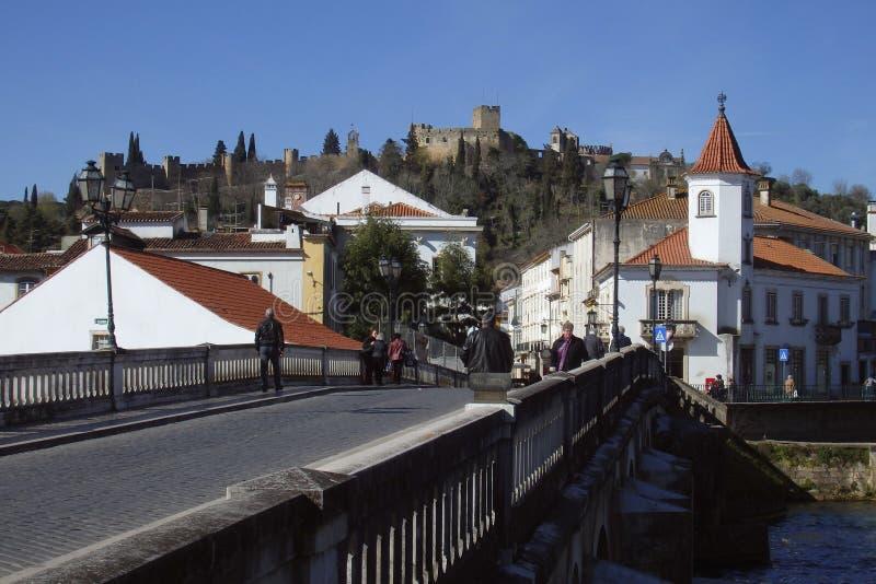 托马尔的基督会院Tomar葡萄牙 免版税库存图片