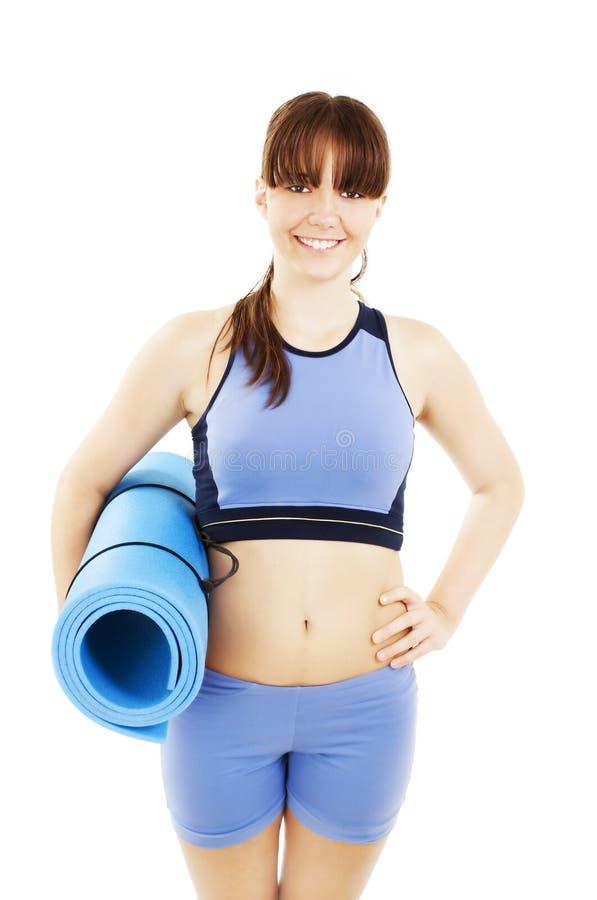 执行健身妇女 库存图片
