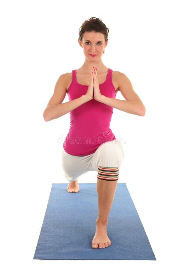 Download 执行女子瑜伽 库存图片. 图片 包括有 beautifuler, 确定, 津贴, 柔术表演者, 席子, 幸福 - 3662751