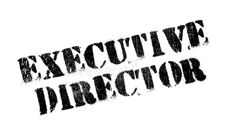 执行董事不加考虑表赞同的人 向量例证