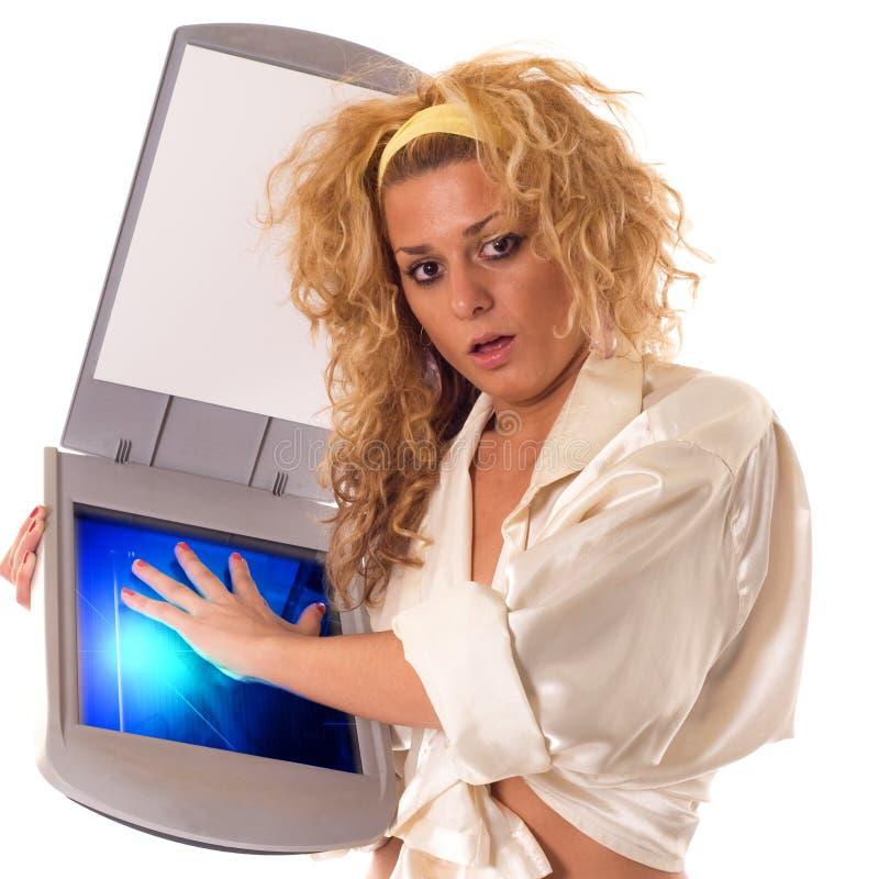 扫描程序 免版税图库摄影
