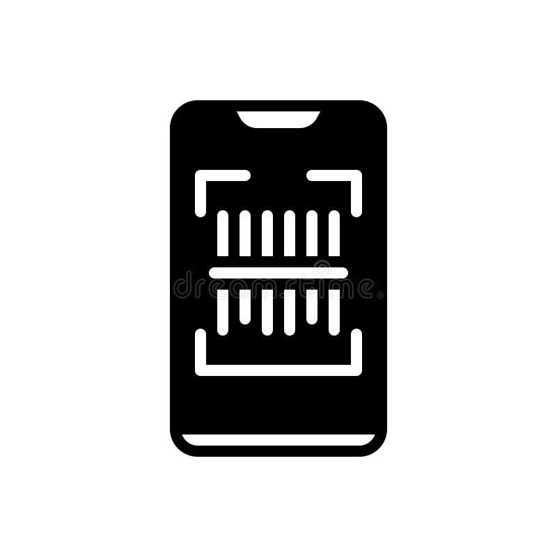 扫描,技术和电子的黑坚实象 皇族释放例证