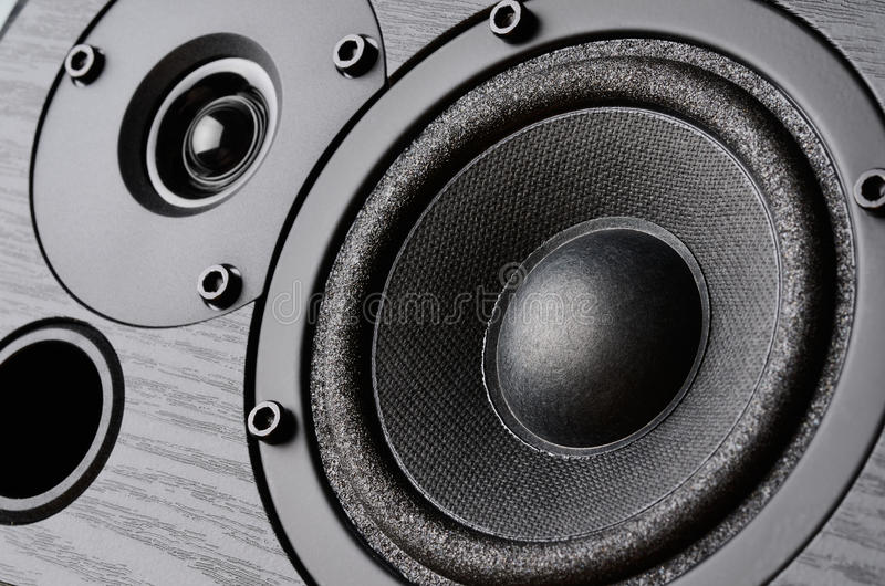扬声器系统 库存照片