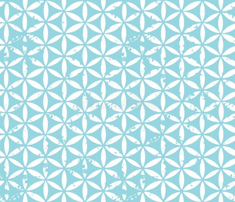 扬特拉河无缝的装饰品 免版税库存照片