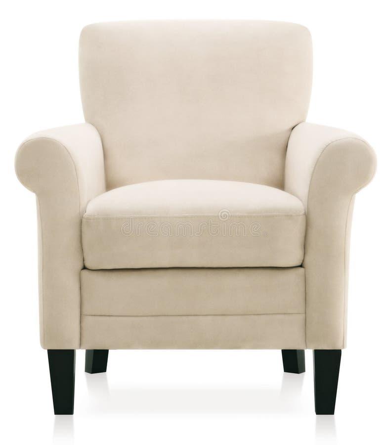扶手椅子方便的软件 库存图片