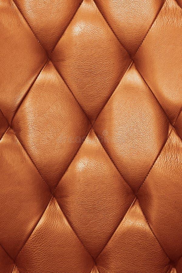 扶手椅子皮革 免版税图库摄影